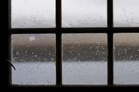regn på vinduet